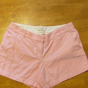 J.Crew Pink Linen Shorts